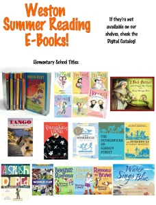 13 ebooks Elementary Reading List 1
