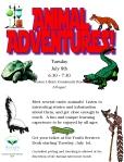 14 animal adventures