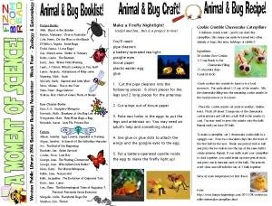14 newsletter 4 zoology entomology