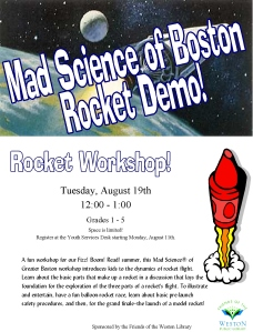 14 mad science rocket demo