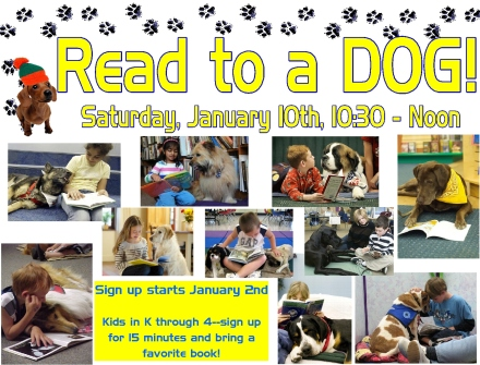 read to a dog 15 jan