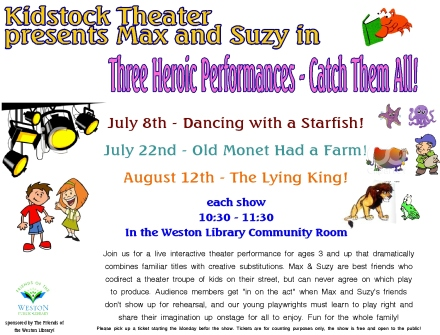 15  kidstock shows