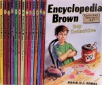 encyclopedia brown series
