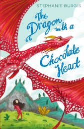 dragon with a chocolate heart uk